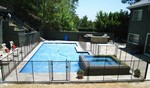 Safeguard Mesh and Glass Pool Fence in Los Angeles, CA, photo #5