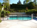 Safeguard Mesh and Glass Pool Fence in Los Angeles, CA, photo #6