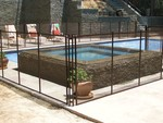 Safeguard Mesh and Glass Pool Fence in Los Angeles, CA, photo #10