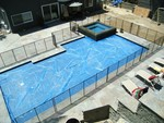 Safeguard Mesh and Glass Pool Fence in Los Angeles, CA, photo #11