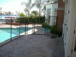 Safeguard Mesh and Glass Pool Fence in Los Angeles, CA, photo #15