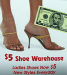 Five Dollar Shoe Warehouse in West New York, NJ, photo #1