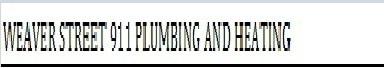 Weaver_street_911_plumbing_and_heatinglogo