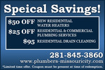 Plumbers Missouri City TX in Missouri City, TX, photo #1