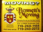 Bennett's Moving in Colorado Springs, CO, photo #6
