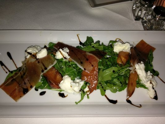 Crossings_-_persimmon___burrata_-_grilled_peach__arugula__panetta__balsamic_by_executive_chef_lalo_sanchez_photo_by_my_d