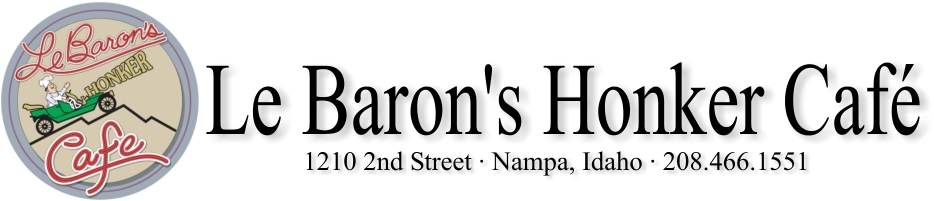 Le Baron's Honker Cafe in Nampa, ID, photo #3