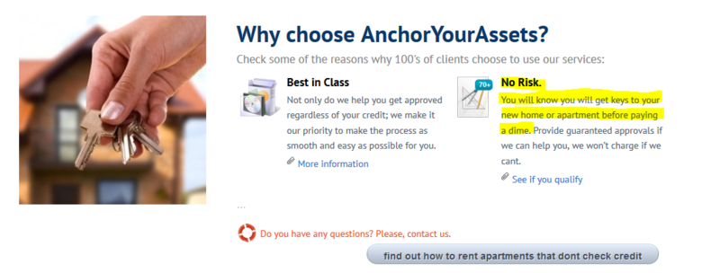 Anchor_your_assets_no_fees_due_upfront_scam