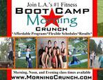 "Boot Camp ""Morning Crunch"" MARINA DEL REY BOOT CAMPS in Marina Del Rey, CA, photo #1"
