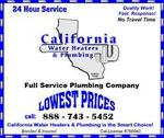 California Water Heaters & Plumbing in San Mateo, CA, photo #1