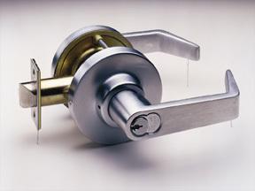Medeco_embassy_lever_handle_locks
