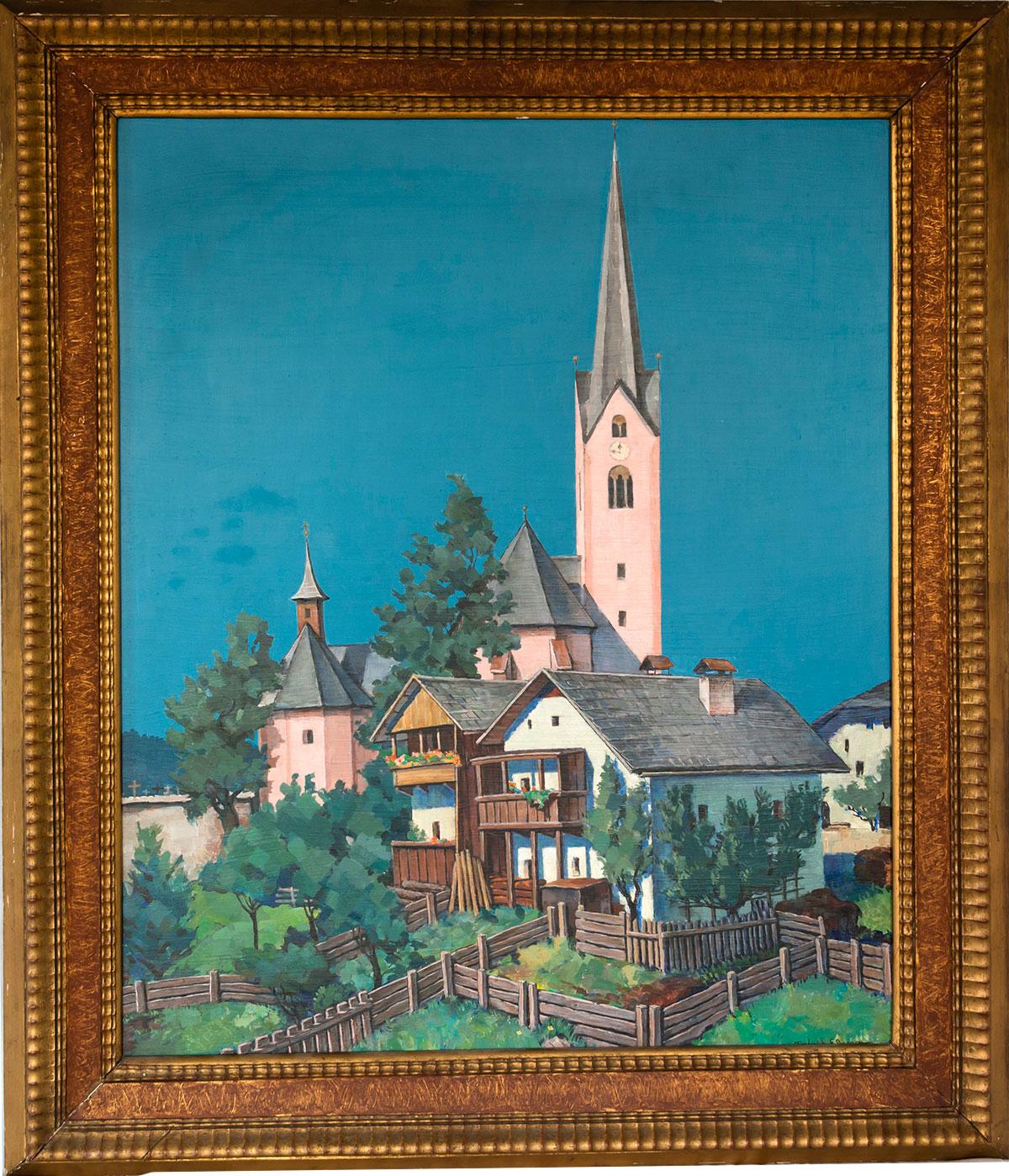 Sillian, an Austrian Village