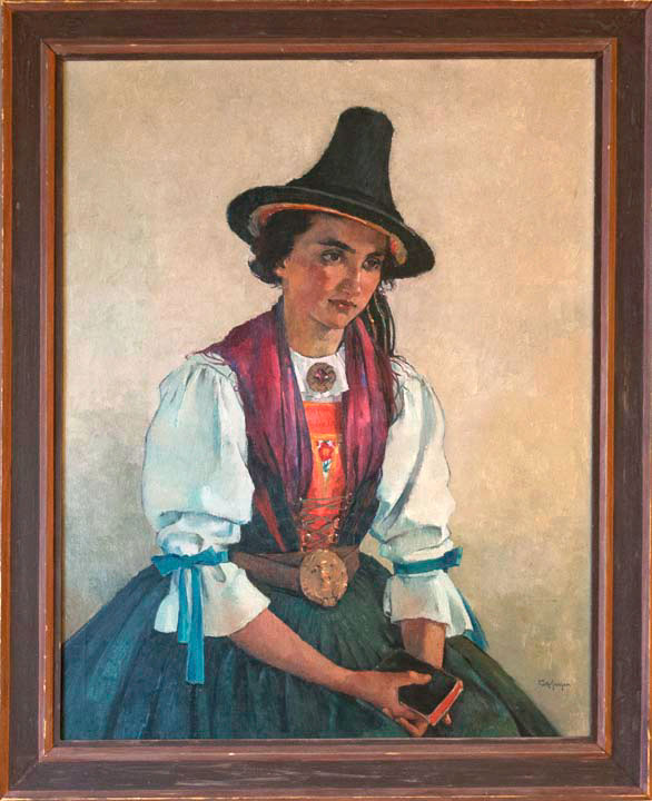 Girl in Tyrolean Costume