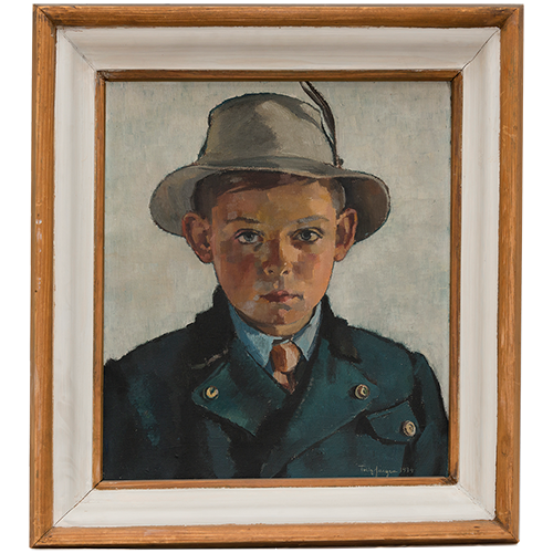George, Fritz's son, at eight