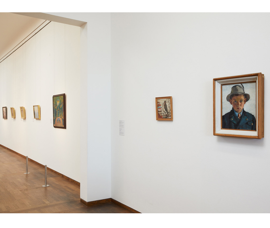 Jaeger Paintings Exhibited in Leopold Museum