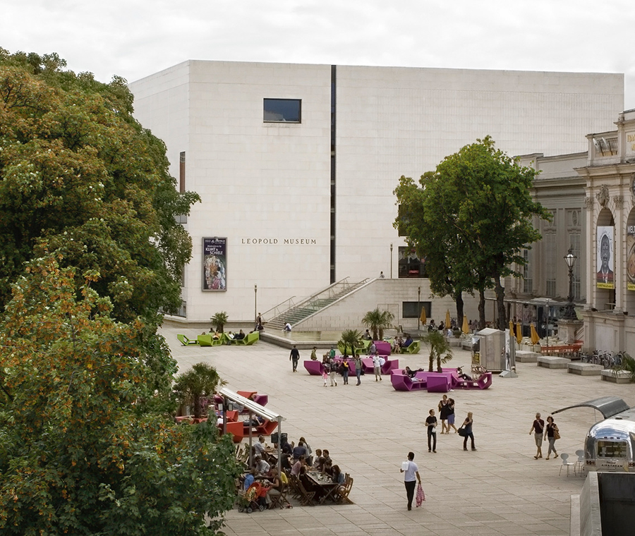 Leopold Museum in Vienna's Museum District