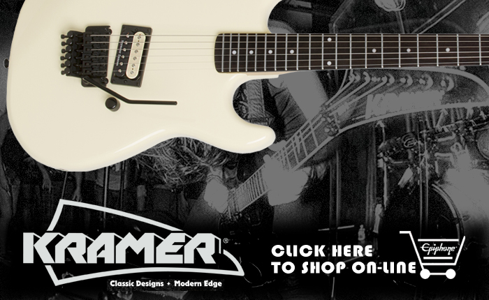 Kramer Guitars Now available on the Epiphone Store