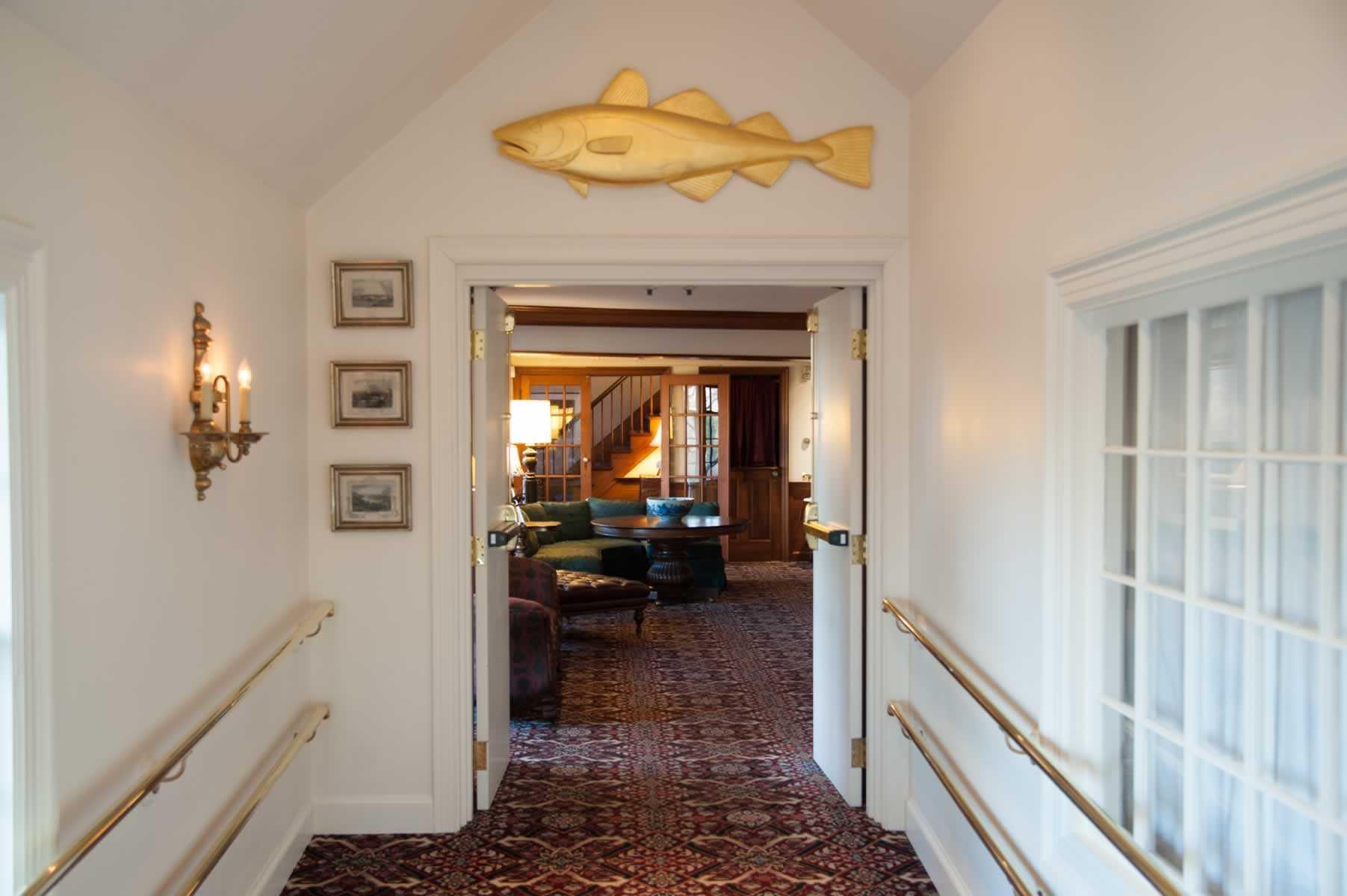 Lucky Cod Ballroom Entrance
