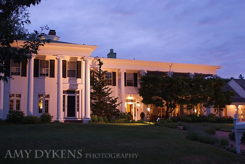 Captain Linnell House At Night