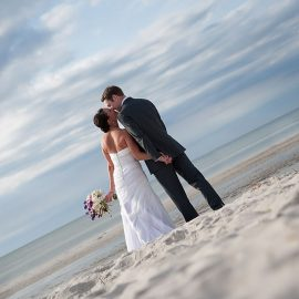 Beach Wedding on Cape Cod