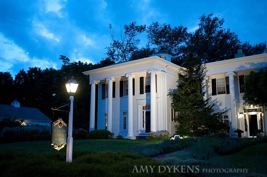 Blue Light Over Captain Linnell House