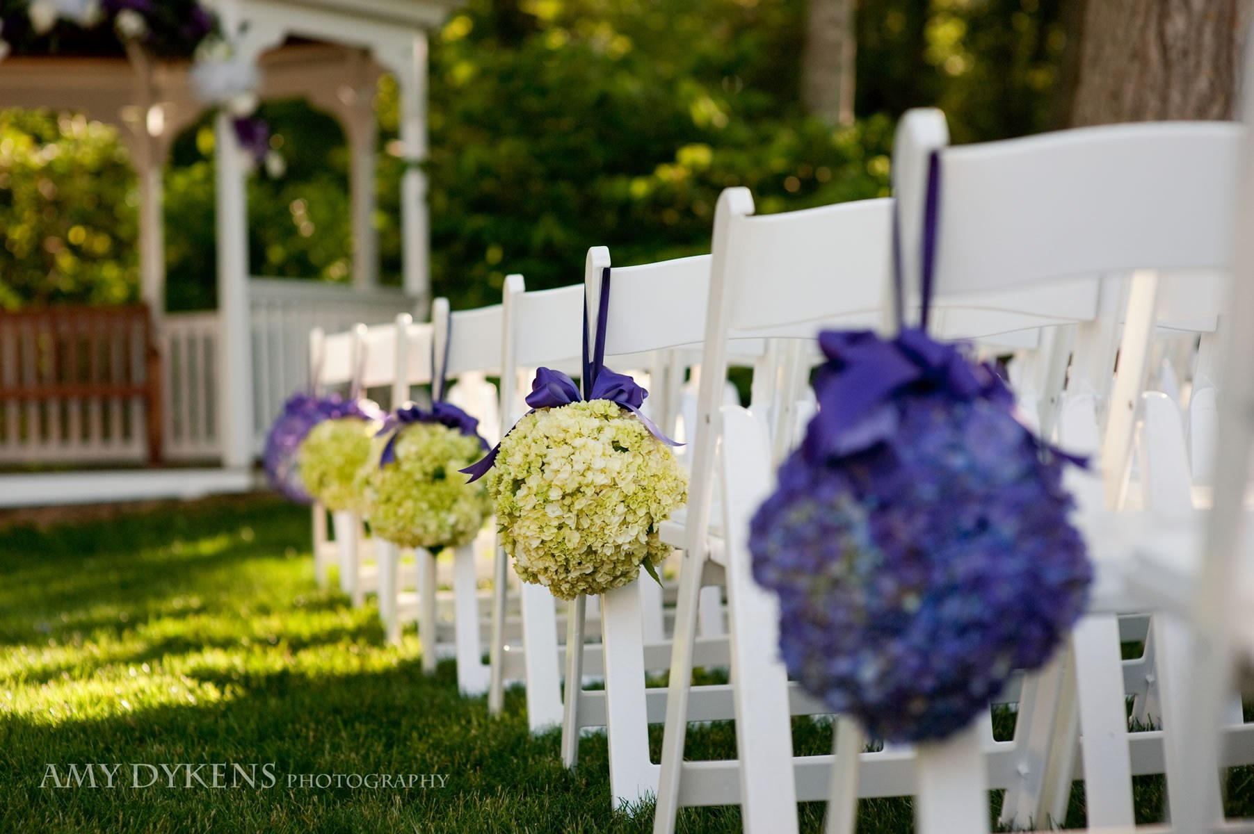 Flowers On Chairs