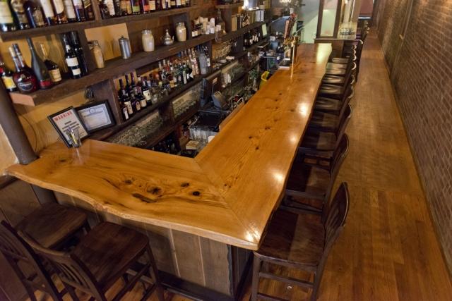 Red Oak Bar Top Maker S Row