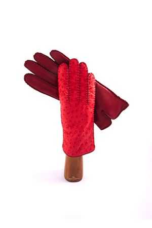 Guanti in pelle Capri Gloves | 34 | 78OSTRICHRED