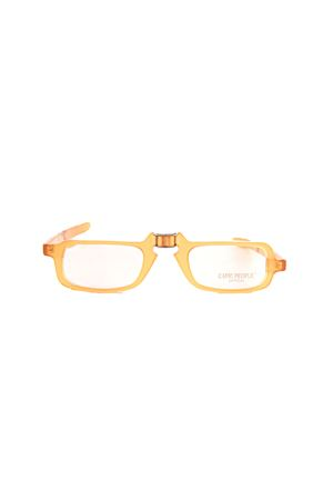 Folding handmade glasses Capri People | 53 | PIEG03GIALLOARANCIO