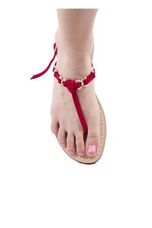 Sandalo Caprese rosso Cuccurullo | 5032256 | CUC01ROSSO