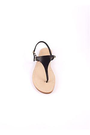 Sandalo Caprese modello triangolo nero Cuccurullo | 5032256 | CUC10NERO