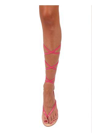 Pink slave model Capri sandals Cuccurullo | 5032256 | CUC11ROSA