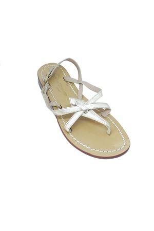 Platinum Capri sandals Da Costanzo | 5032256 | 02/CPLATINO