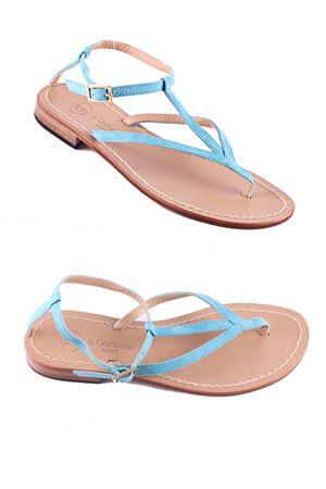 Suede Capri Sandals Da Costanzo | 5032256 | 2031/CISOLA