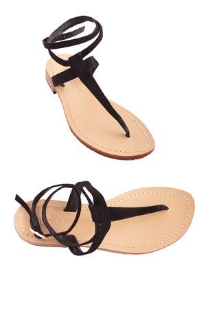 Sandalo caprese con laccio alla caviglia Da Costanzo | 5032256 | 2249/BRNERO