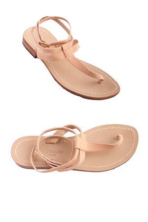 Sandali capresi con laccio alla caviglia Da Costanzo | 5032256 | 2249/BRNUDE