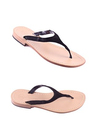 Flip Flops Capri sandals Da Costanzo | 5032256 | 2257BLACK