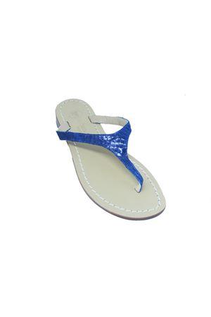 Flip Flops blue Capri sandals Da Costanzo | 5032256 | 2257BLU