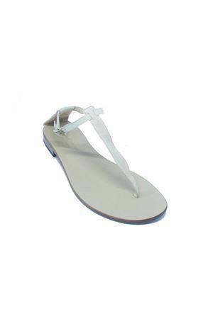 Sandali capresi con suola nera Da Costanzo   5032256   2401/CBEIGE