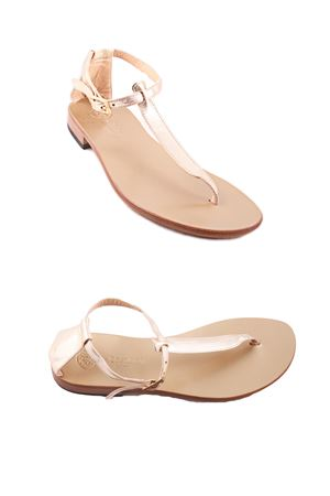 Capri Sandals with gold sole Da Costanzo | 5032256 | 2401/GOLDORO