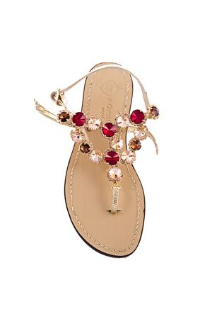 Jewel Capri sandals Da Costanzo | 5032256 | S2036OROTOPAZIO