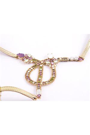Jewel sandal Da Costanzo | 5032256 | S2894ROSAVERDE
