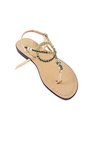 Jewel sandal Da Costanzo | 5032256 | S2894VERDE