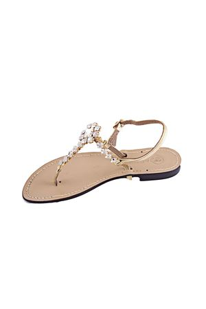 Jewel sandal Da Costanzo | 5032256 | S2895CRYORO