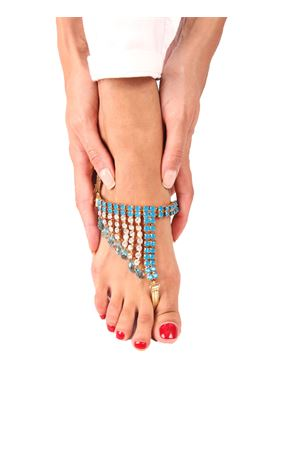 Jewel Sandals Da Costanzo | 5032256 | S3061AZZURRO/ORO