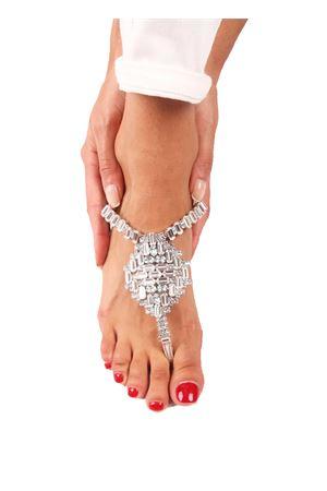 Jewel Sandals Da Costanzo | 5032256 | S3062BIANCO/GHIACCIO