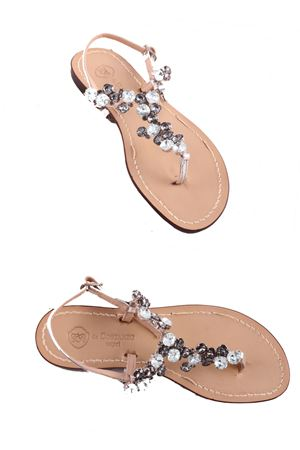 Jewel Capri Sandals Da Costanzo | 5032256 | S3099GRIGIO