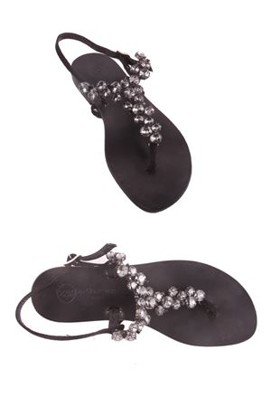 Jewel Capri Sandals Da Costanzo | 5032256 | S3099NERO