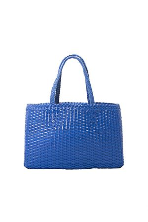 Handmade blue leather bag Laboratorio Capri | 31 | LAB51BLU