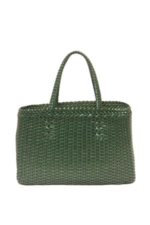 Leather green shoulder bag Laboratorio Capri | 31 | LAB51VERDEMILITARE